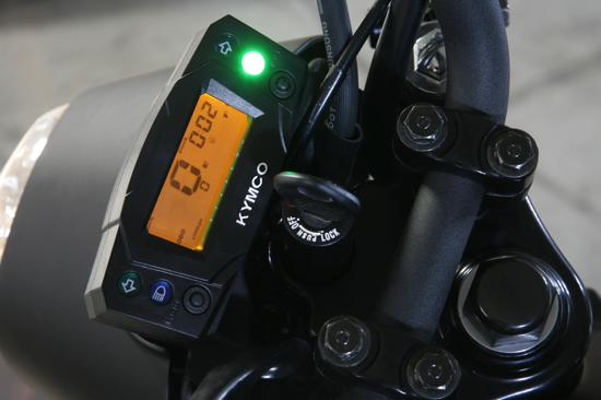 Kymco K-Pipe dashboard